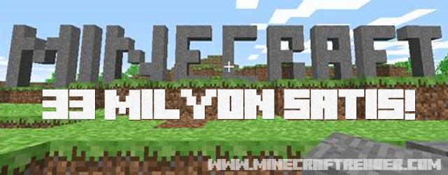 Minecraft, 33 Milyon Satışa Ulaştı!