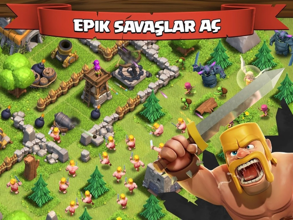 Clash of Clans Hile Mod Apk