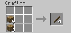 Minecraft Çubuk Yapımı