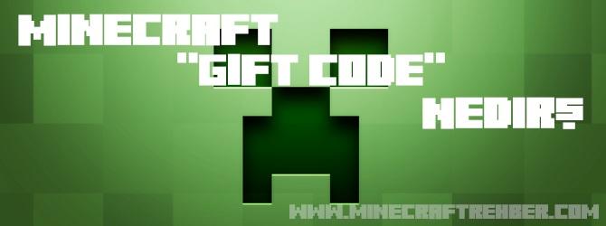 Minecraft Gift Code Nedir?