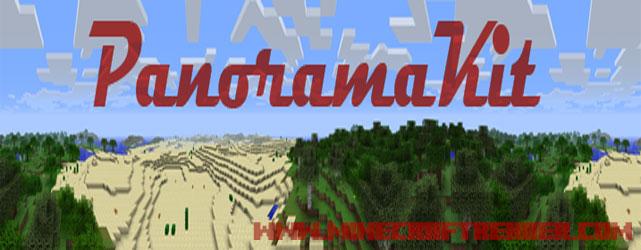 Minecraft Panorama Fotoğraf Modu (PanoramaKit) [1.5.2/1.6.2/1.6.4]