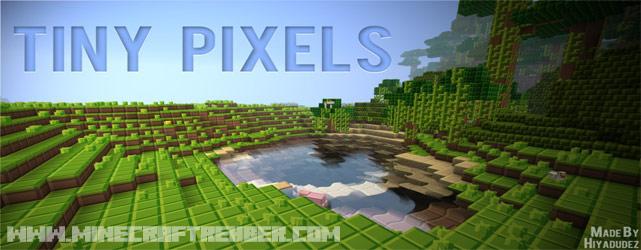 Minecraft Küçük Piksel Doku Paketi (Tiny Pixels) [1.6.2]