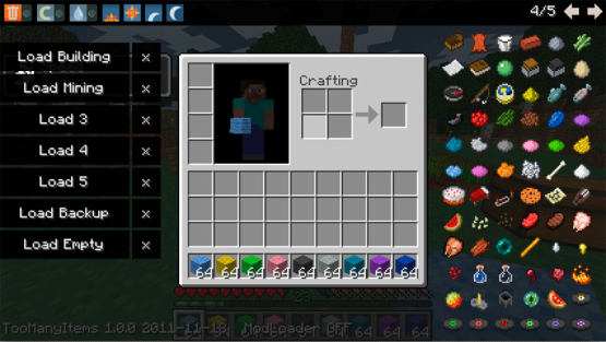 Minecraft Too Many Items Resmi