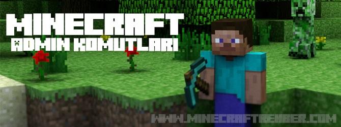 Minecraft Admin Komutları
