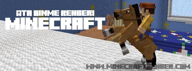 Minecraft Ata Binme Rehberi