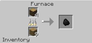 Minecraft Odun Kömürü Yapımı