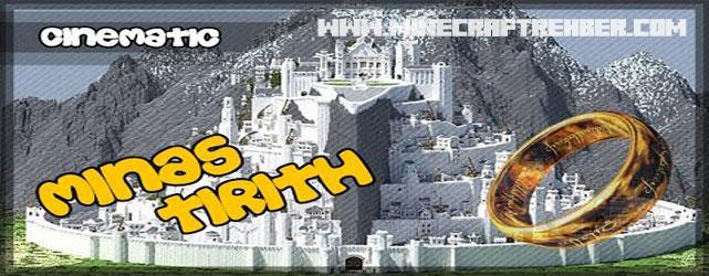 Minecraft Yüzüklerin Efendisi Haritası (Minas Tirith)