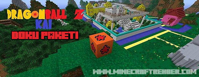 Minecraft Dragon Ball Z Kai Doku Paketi [1.5.2]