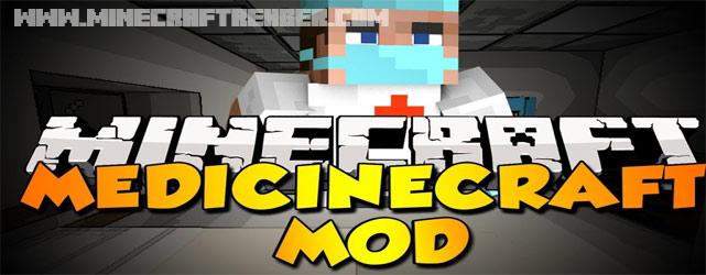 Minecraft Doktorluk Modu (MedicineCraft) [1.6.4]