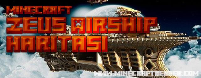 Minecraft Uzay Gemisi Haritası (Zeus Airship)